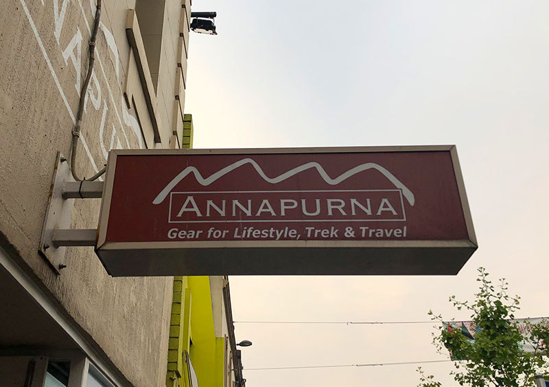 Annapurna Hiking Gear Store Rundle Street, Adelaide