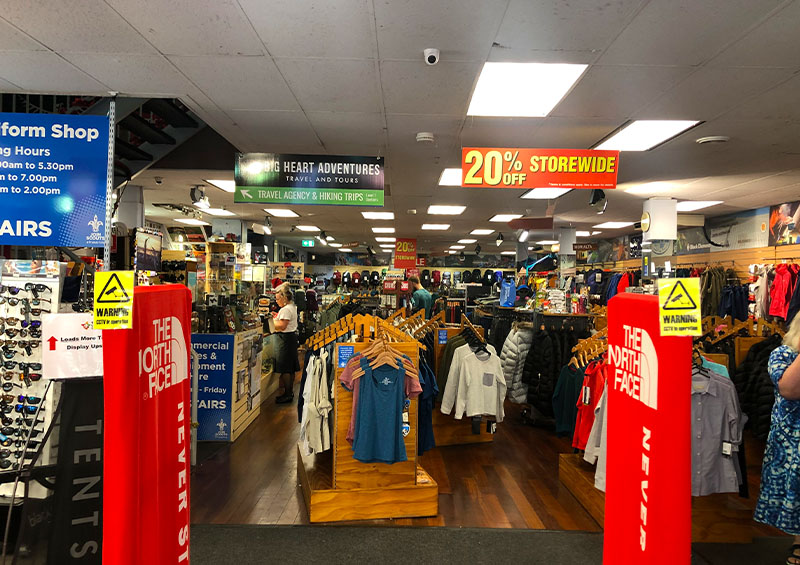 Scouts Outdoor Centre Hiking Gear Store Rundle Street, Adelaide