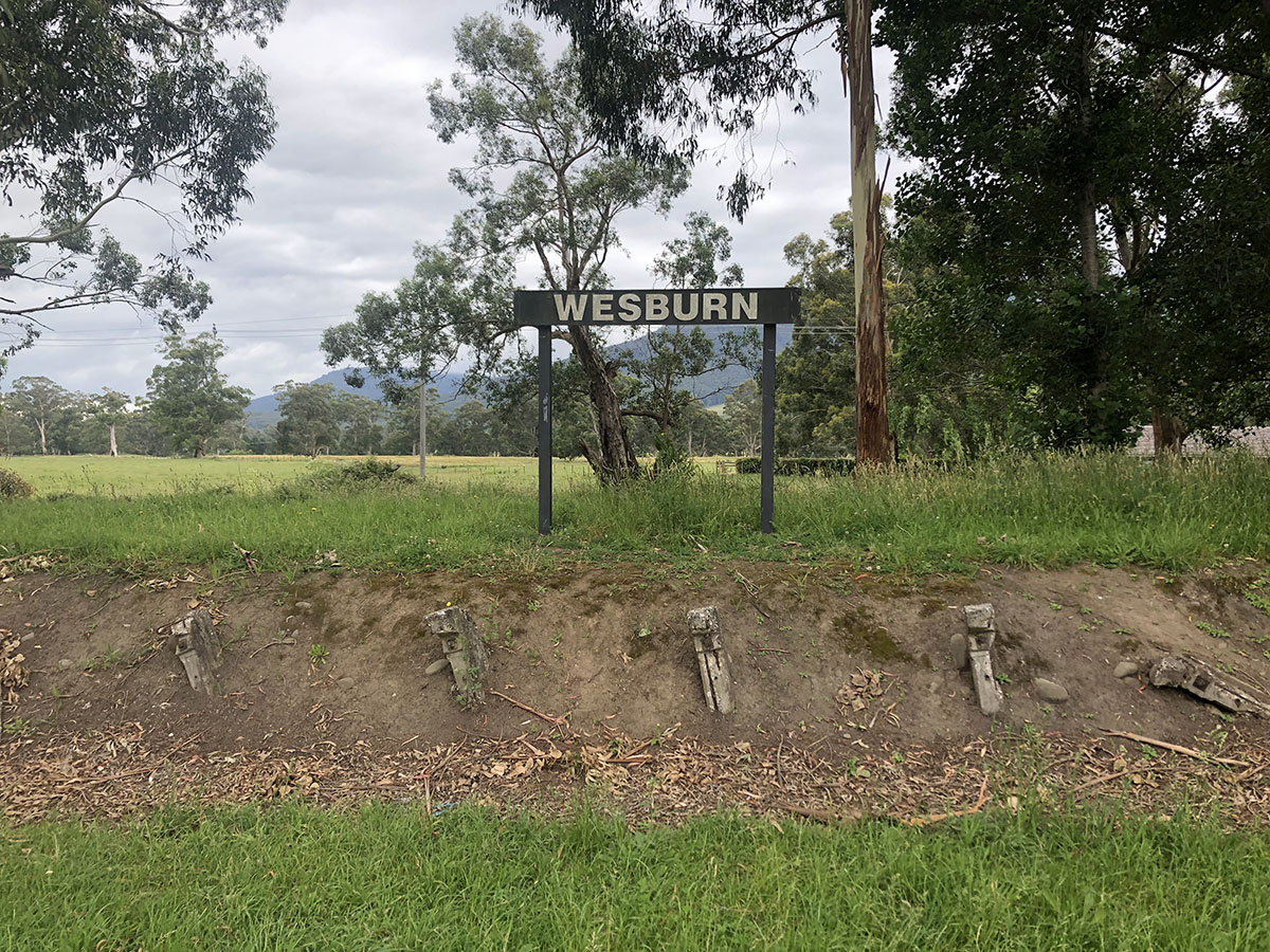 Lilydale to Warburton Rail Trail - wesburn station